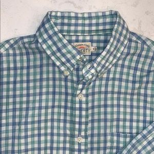 Faherty button up